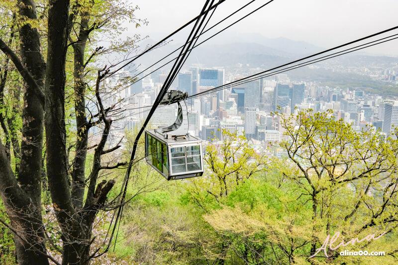 首爾明洞南山纜車