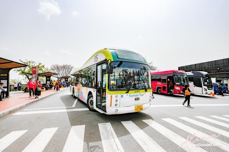 首爾塔交通 南山循環巴士