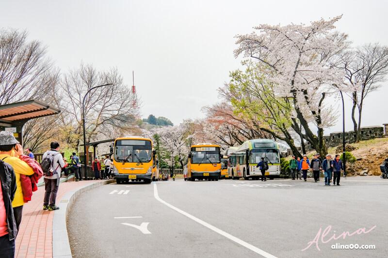 南山首爾塔交通 公車路線