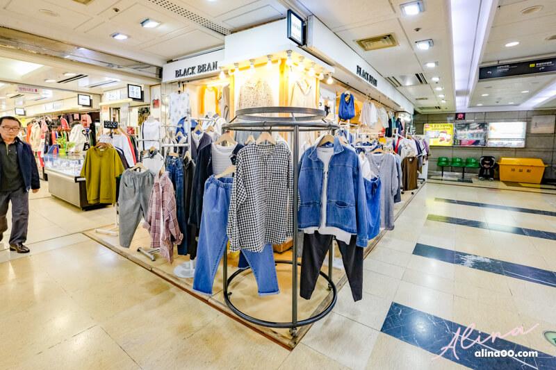 韓國首爾購物推薦 仁川富平地下商店街