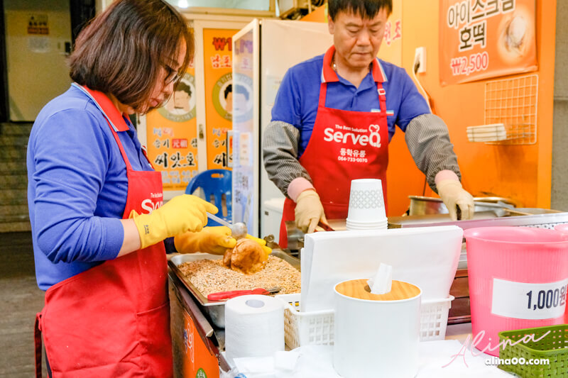 濟州每日偶來市場糖餅
