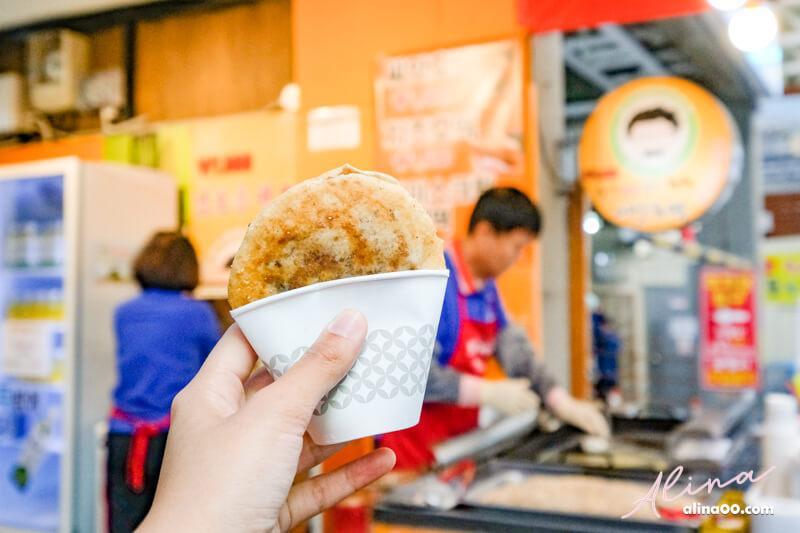 西歸浦每日偶來市場 糖餅小吃