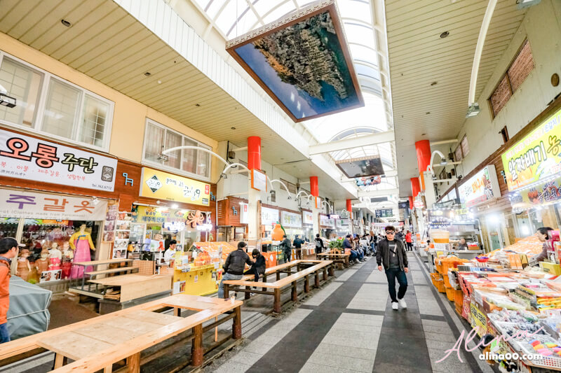 濟州島西歸浦每日偶來市場