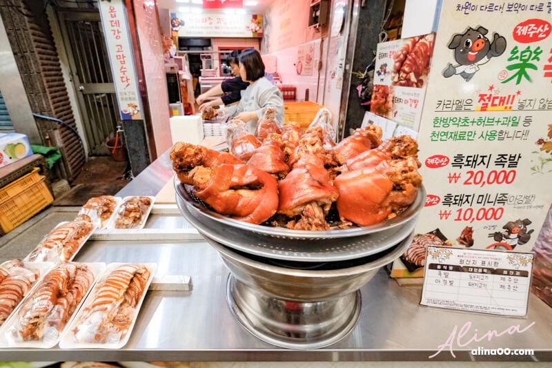 韓國五香豬腳
