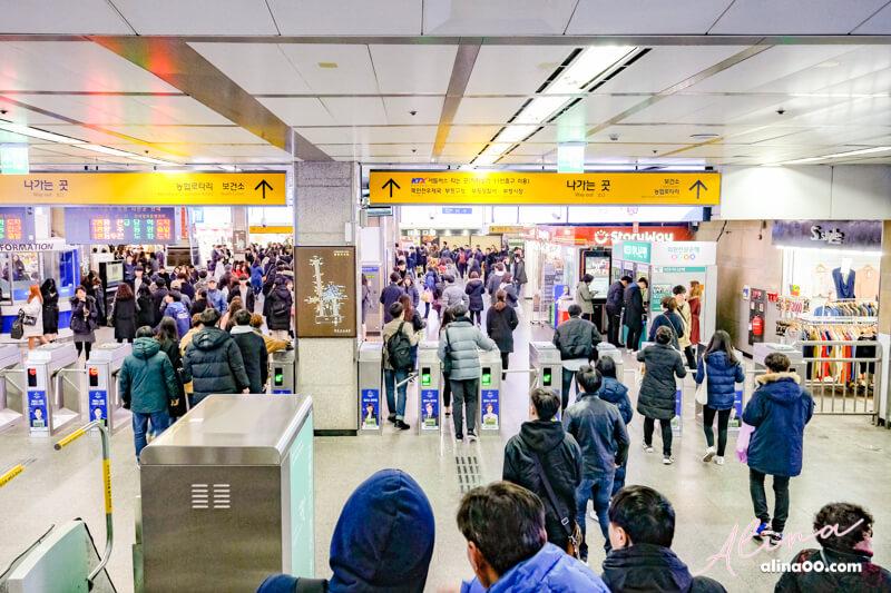 富平地下街地鐵站出口
