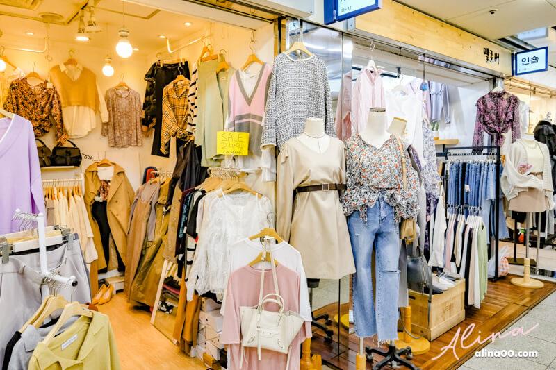【首爾購物】仁川 富平地下街-值得推薦!衣服飾品韓國美妝,便宜又好買 @Alina 愛琳娜 嗑美食瘋旅遊