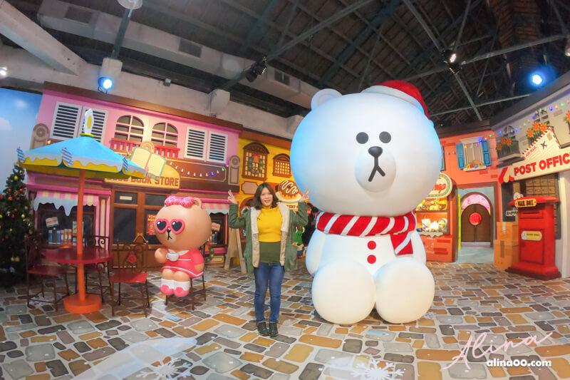 【台北展覽】台北華山-LINE特展-世界巡迴之旅,跟熊大一起拍照 @Alina 愛琳娜 嗑美食瘋旅遊