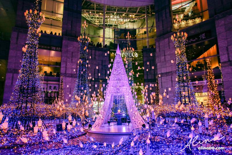 汐留聖誕點燈