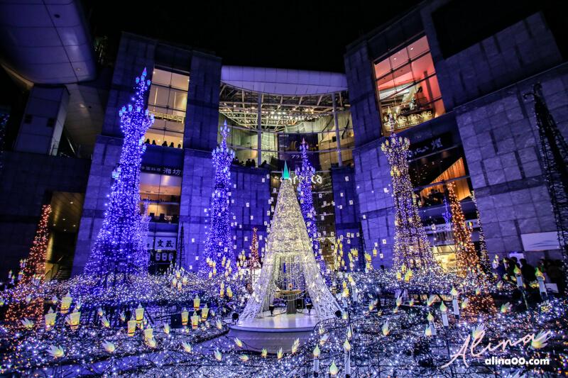 東京汐留 Caretta 聖誕點燈 X 迪士尼會展 活動