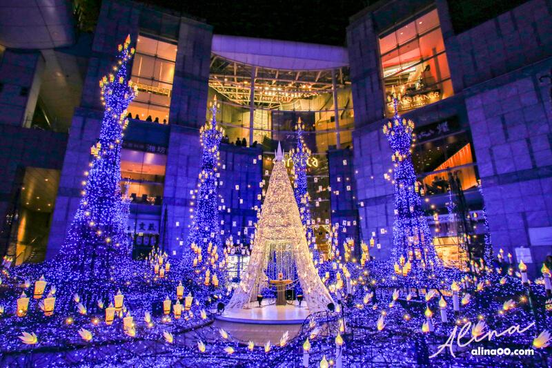 東京聖誕節點燈 汐留 Caretta