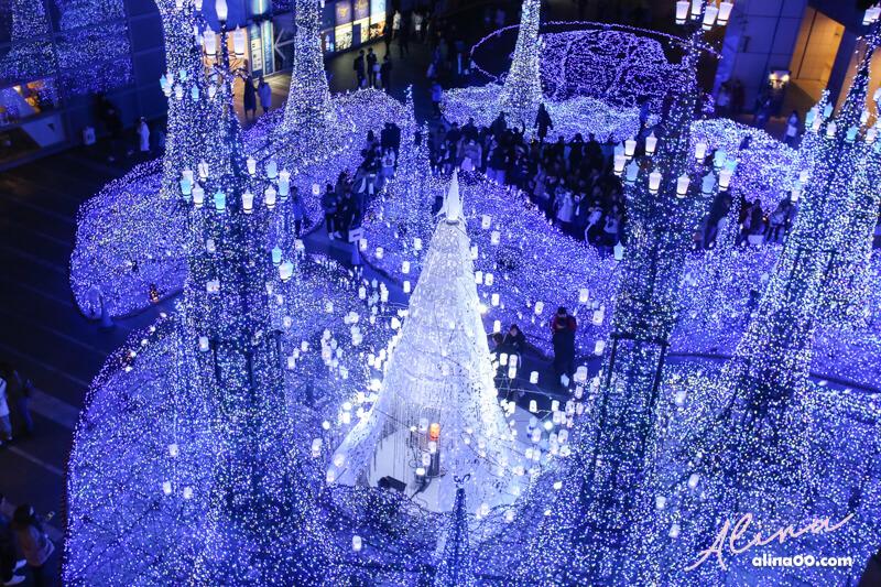 東京聖誕節點燈表演