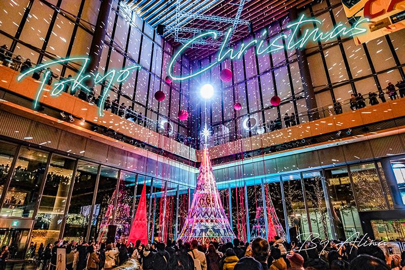 【東京聖誕節】日本 東京聖誕節 點燈景點,華麗浪漫光雕秀 @Alina 愛琳娜 嗑美食瘋旅遊