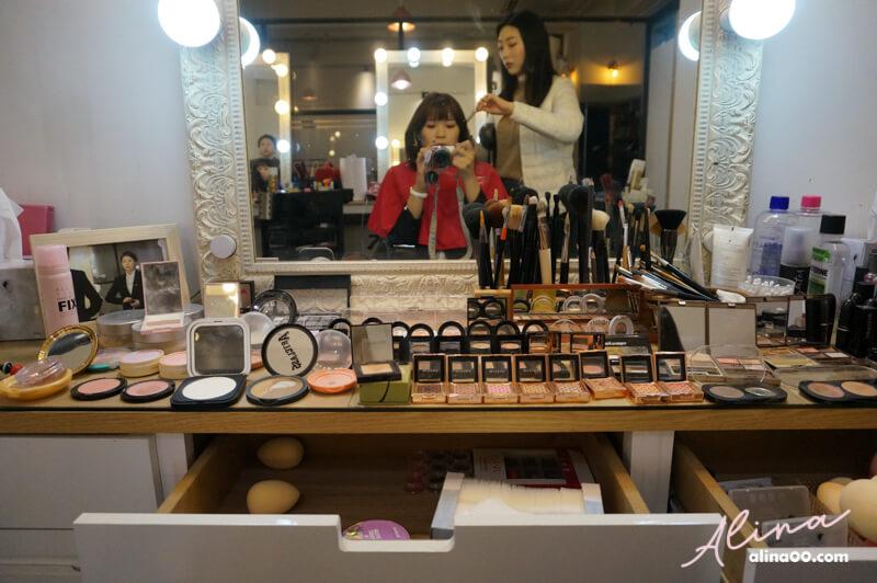 首爾證件照 妝髮造型