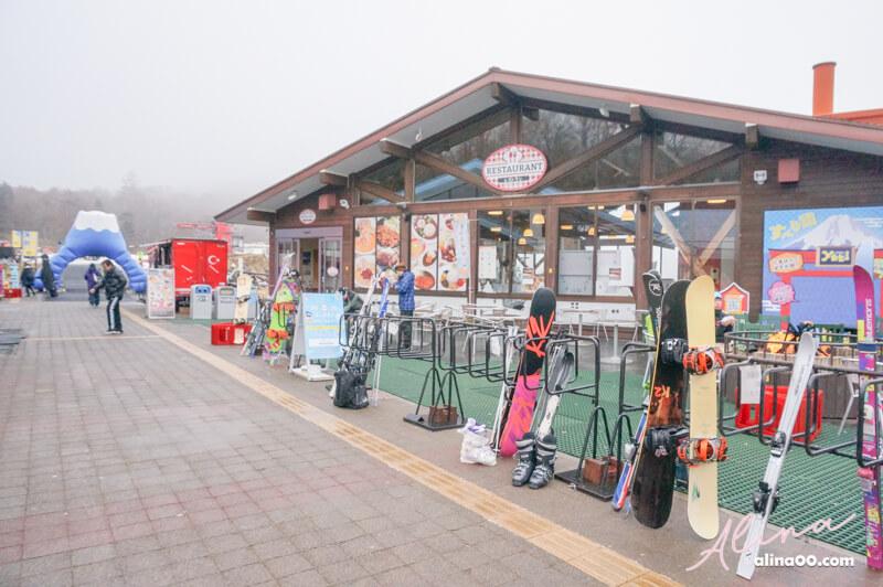 日本滑雪場餐廳