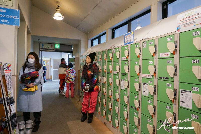 日本滑雪寄物櫃