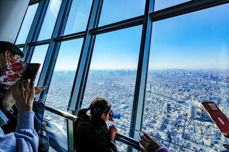 東京晴空塔展望台