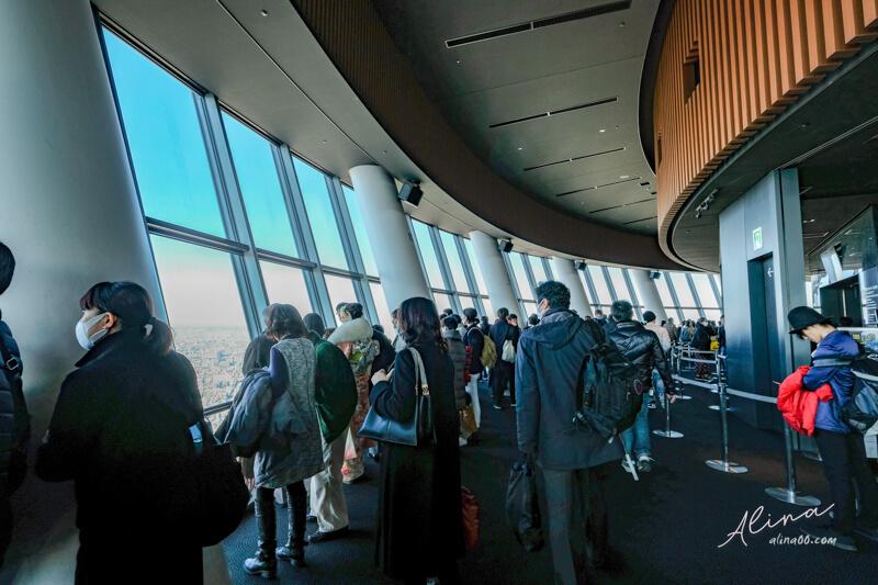 東京晴空塔天望甲板