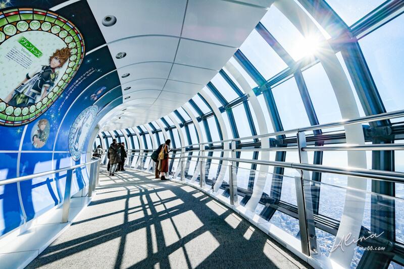 東京晴空塔天望回廊