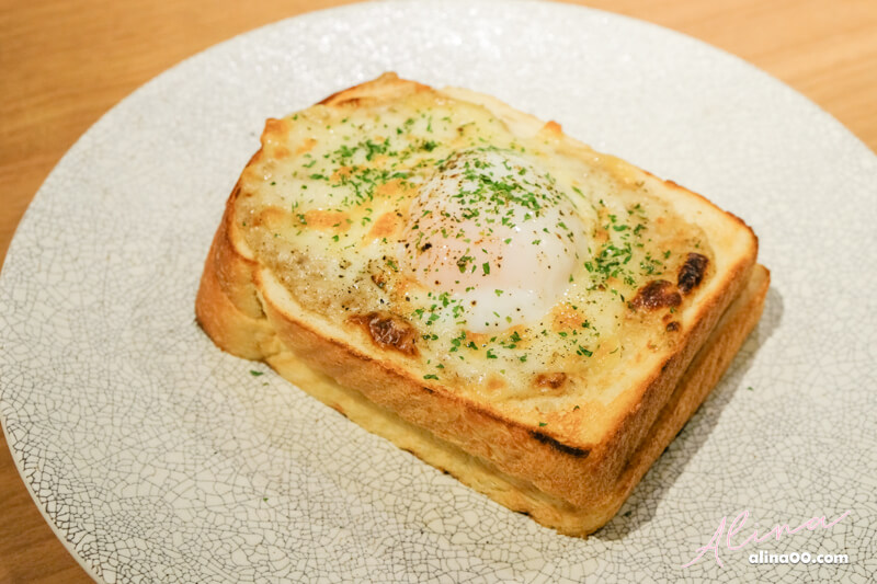 俺のBakery & Cafe Croque Madame 法式溫玉吐司