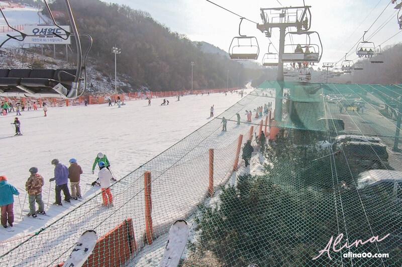 韓國滑雪一日團
