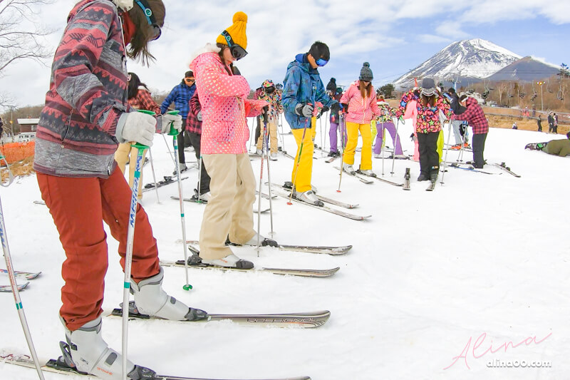 【日本滑雪】日本滑雪 一日遊推薦-有富士山二合目美景的滑雪場 @Alina 愛琳娜 嗑美食瘋旅遊