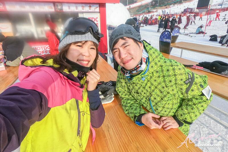 韓國滑雪團