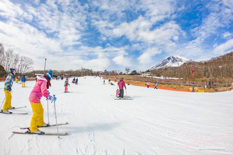 富士山二合目 日本滑雪