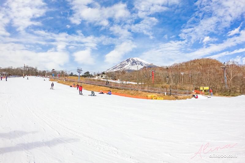 日本滑雪 推薦富士山二合目美景