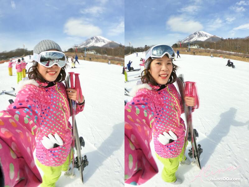 日本滑雪 富士山二合目