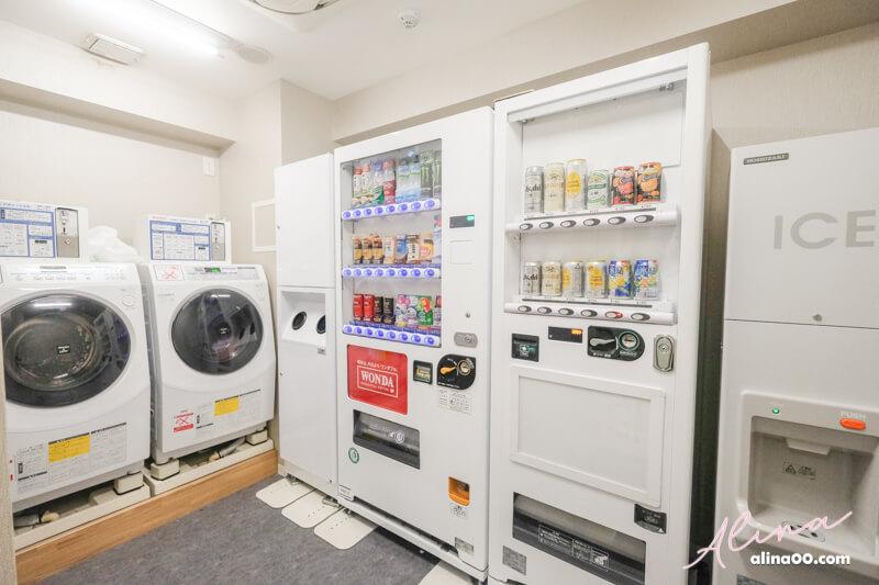 名鐵inn濱松町洗衣機