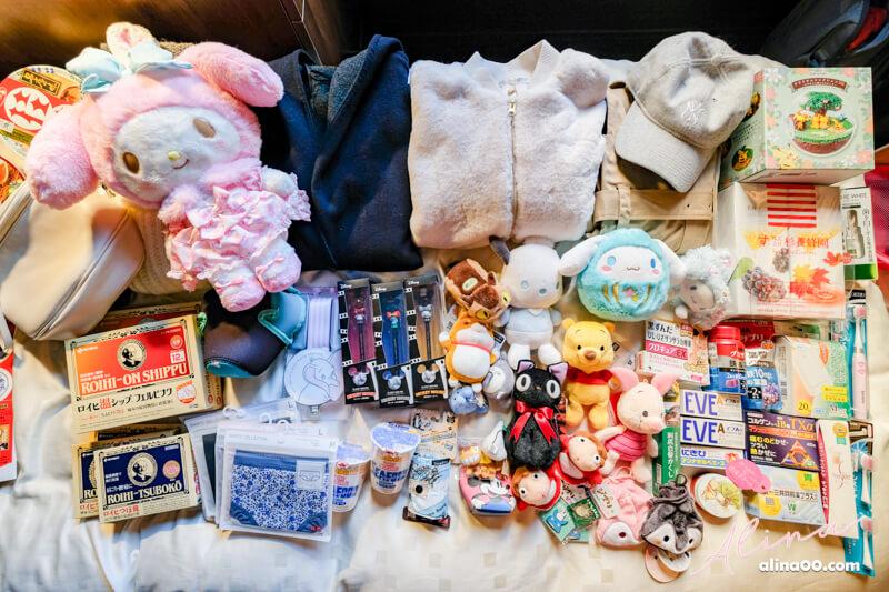 東京購物戰利品