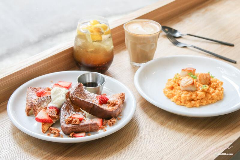 【食記】台北東區 不然 BRUN:早午餐美味兼具質感,IG熱門咖啡廳 @Alina 愛琳娜 嗑美食瘋旅遊