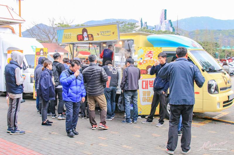 賽馬公園美食餐車