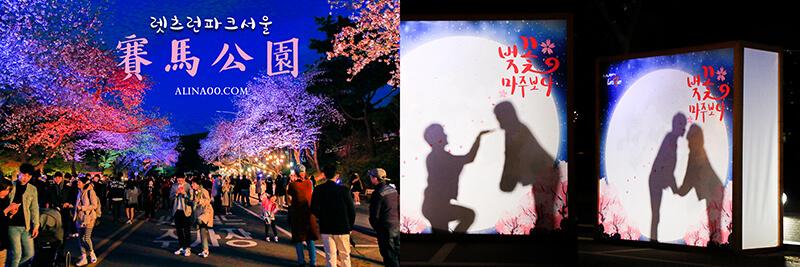 首爾櫻花景點 首爾賽馬公園