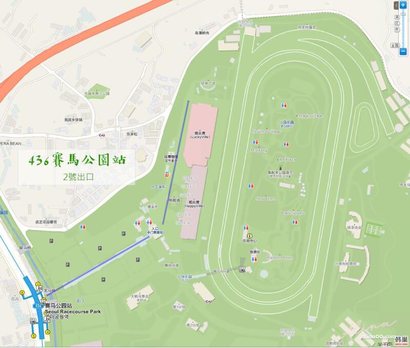 賽馬公園交通