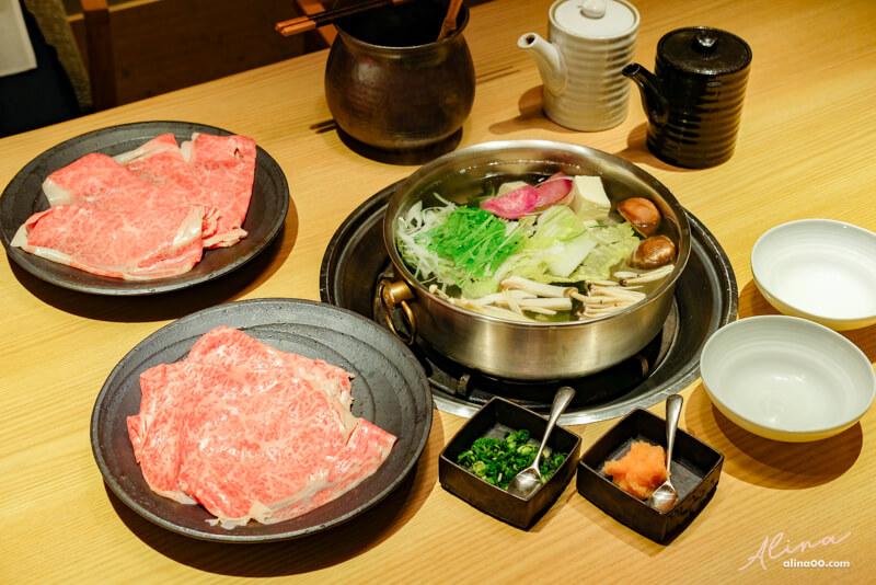 【東京美食】六本木 八山和牛火鍋 壽司店:神戶牛涮涮鍋油脂豐厚 @Alina 愛琳娜 嗑美食瘋旅遊