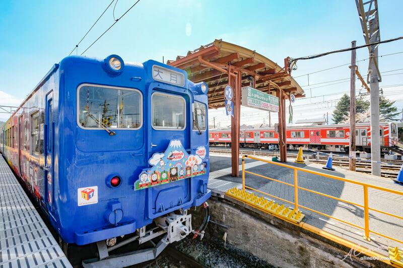 富士急行線電車 湯馬士樂園號