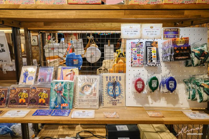 東京鐵塔海賊王週邊商品