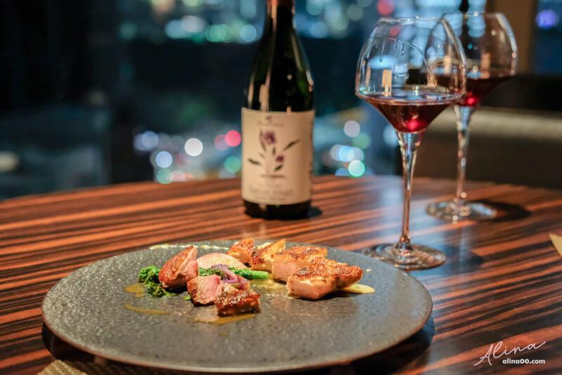 【東京約會餐廳】Restaurant Sky 銀座三井花園景觀餐廳,情人大餐 @Alina 愛琳娜 嗑美食瘋旅遊