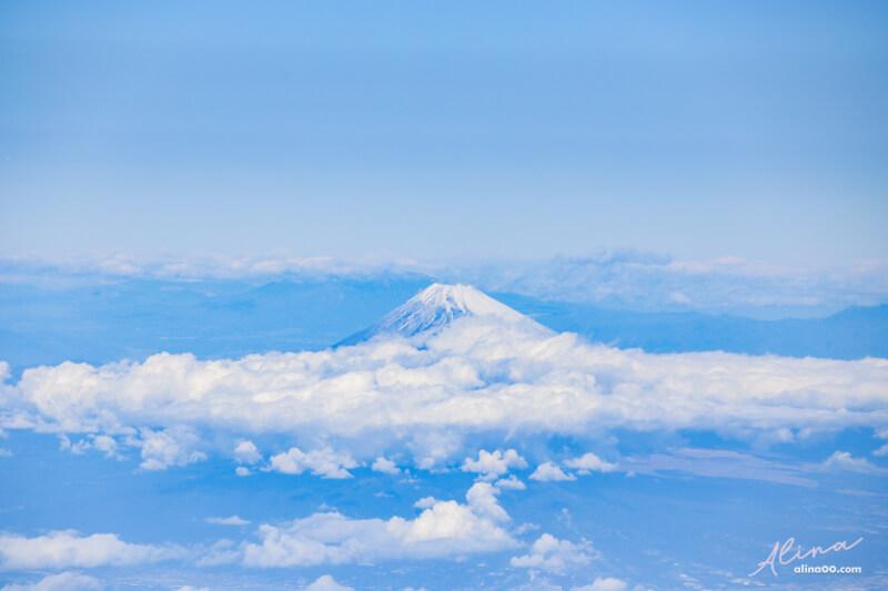 羽田機場富士山