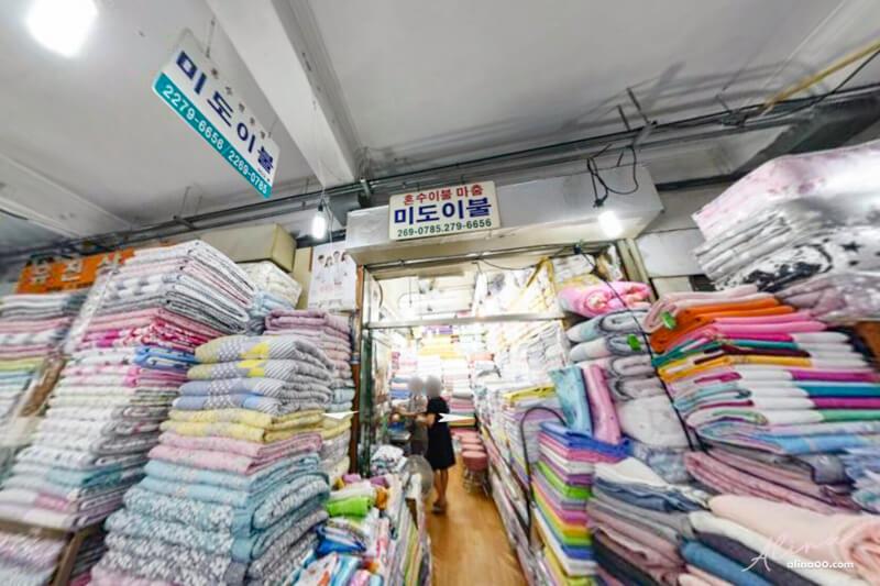 廣藏市場169號棉被店 미도이불