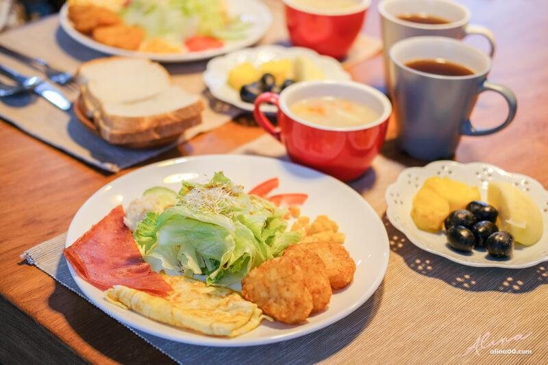 悠悅光民宿早餐