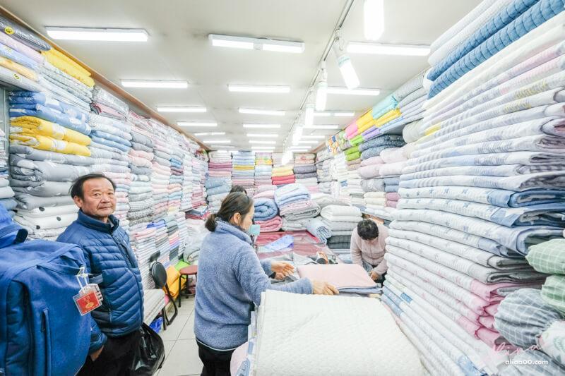 廣藏市場買棉被