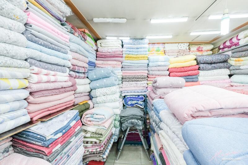 廣藏市場棉被價格