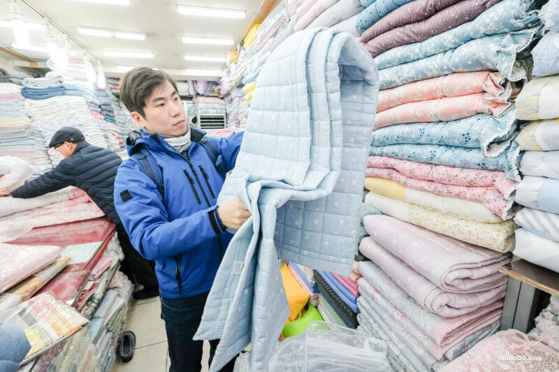 【韓國購物】首爾 廣藏市場棉被-推薦買棉被店、價格及材質比較 @Alina 愛琳娜 嗑美食瘋旅遊