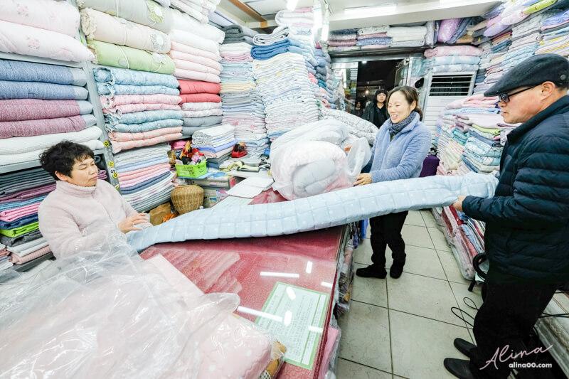 廣藏市場棉被真空包裝