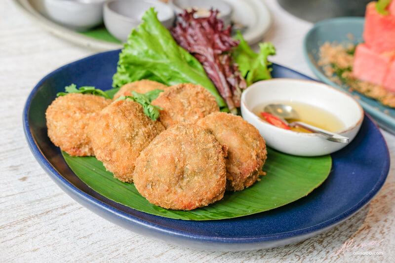 泰式金錢蝦餅