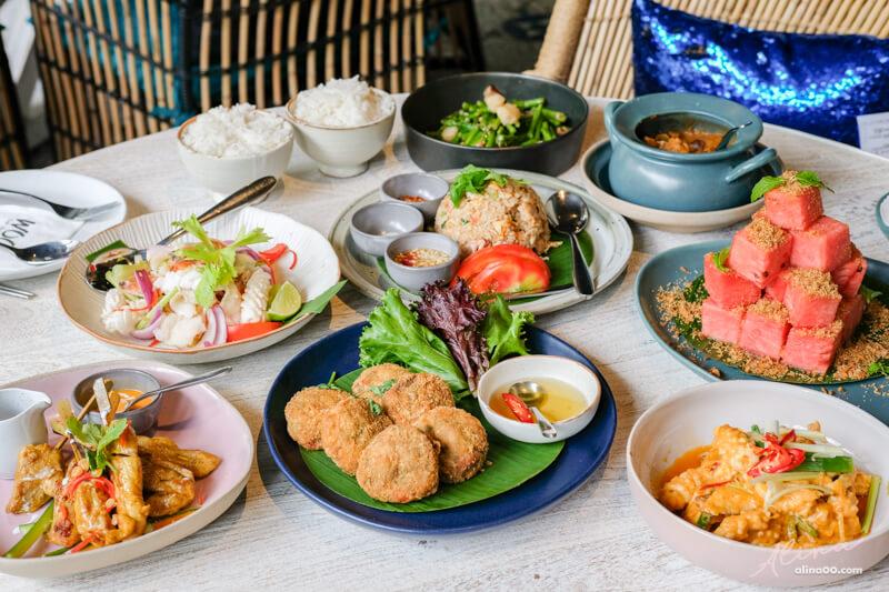 【食記】台北內湖 WOO Taiwan 泰式料理大直店,一起吃美食拍美照 @Alina 愛琳娜 嗑美食瘋旅遊