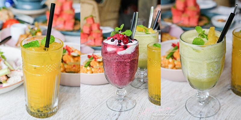 泰式水果冰沙