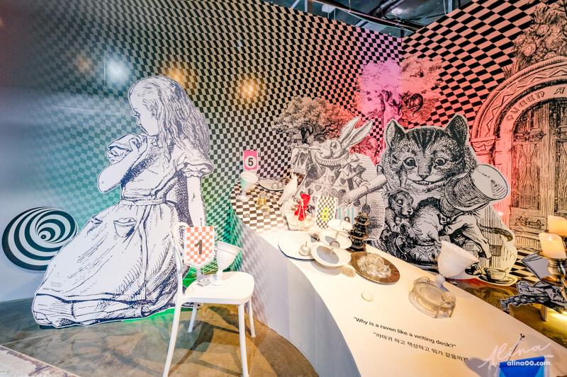 【濟州島景點】跳進兔子洞-愛麗絲夢遊仙境特展-童話奇境冒險 @Alina 愛琳娜 嗑美食瘋旅遊